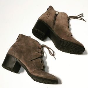 Anne Klein Leather Booties